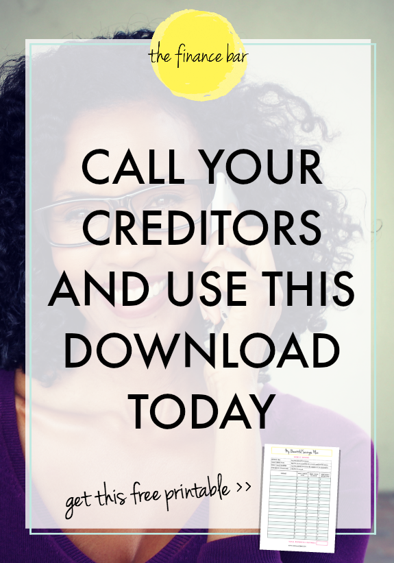 CALL YOUR CREDITORS AND USE THIS [DOWNLOAD TODAY]