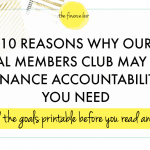 10 Reasons Why our Virtual Members Club May Be the Finance Accountability that You Need