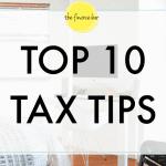 Top 10 Tax Tips