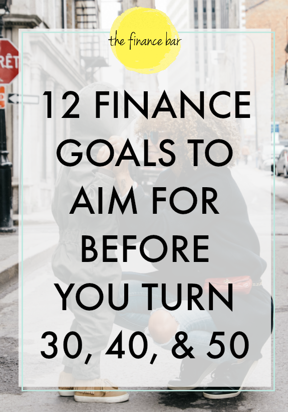 As we begin each new stage of life our priorities start to change. In that same manner, our financial priorities should change to fit ultimate goals that we have for our life. Here are four key milestones to aim at accomplishing for ages 30, 40, and 50. Starting the course with your financial goals now helps you have a greater chance of having financial freedom with your finances in later years of life.