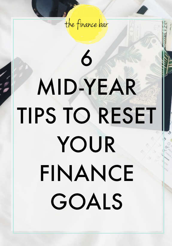 Dreading your mid-year check-in? Did some of your new year financial goals slip through your hands and nest themselves in the back of your mind? No fear. You can still accomplish your financial goals in the second half of the year. Here are six mid-year tips to help you reset your financial goals.
